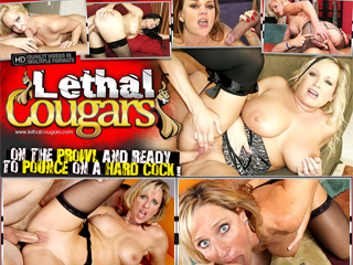 Lethal Cougars - Exlusive Cougars Sluts In Hardcore Action